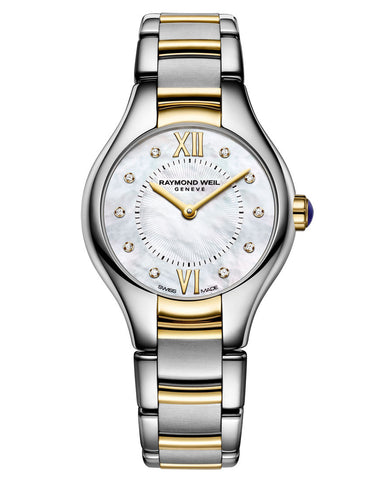 5124-ST-00985 Raymond Weil Ladies Noemia Bi-Colour Diamond Set Watch