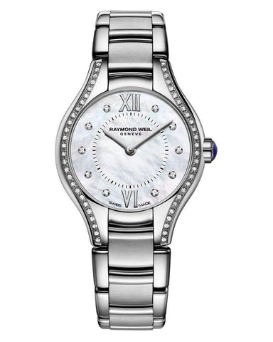 5124-STS-00985 Raymond Weil Ladies Noemia Diamond Set Watch