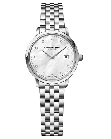 5988-ST-97081 Raymond Weil Ladies Toccata Diamond Set Watch
