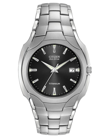 BM6560-54H Citizen Gents Eco Drive Titanium Bracelet Watch