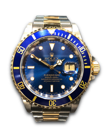 Rolex Submariner 16613 Blue Kit