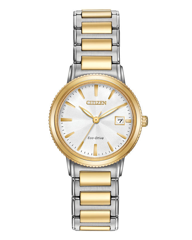 dee572a5ff0 EW2374-56A Citizen Ladies Eco Drive Strap Watch – George Moss
