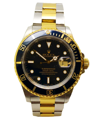 Rolex Submariner 16613 Stainless Steel & 18ct Yellow Gold
