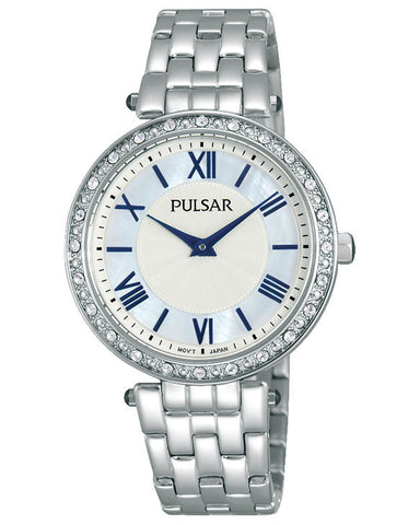 PM2105X1 Pulsar Ladies Stainless Steel Dress Watch