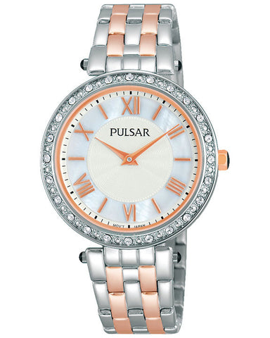 PM2109X1 Pulsar Ladies Two Tone Dress Watch