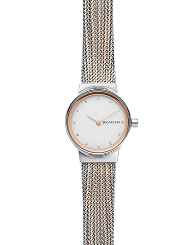 Skagen Freja Two-Tone Steel-Mesh Watch