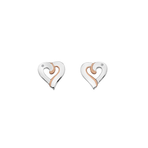 Hot Diamonds Together Earrings