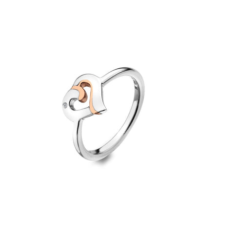 Hot Diamonds Together Ring