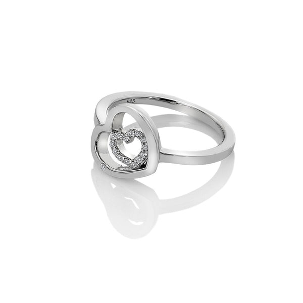 Hot Diamonds Adorable Encased Ring