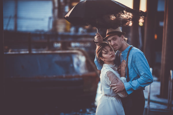 Inspired Vintage Sea Town Love Part I