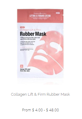Masqueology Collagen Lift & Firm Rubber Mask