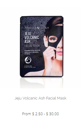 Masqueology Jeju Volcanic Ash Facial Mask
