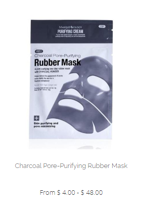 Masqueology Charcoal Pore-Purifying Rubber Mask