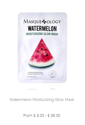 Masqueology Watermelon Moisturizing Glow Mask