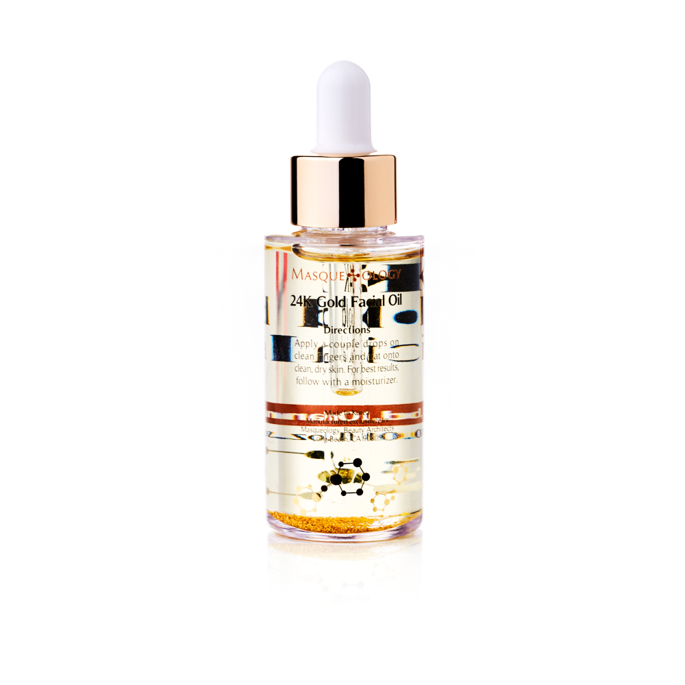 24k Gold Facial Oil by Masqueology