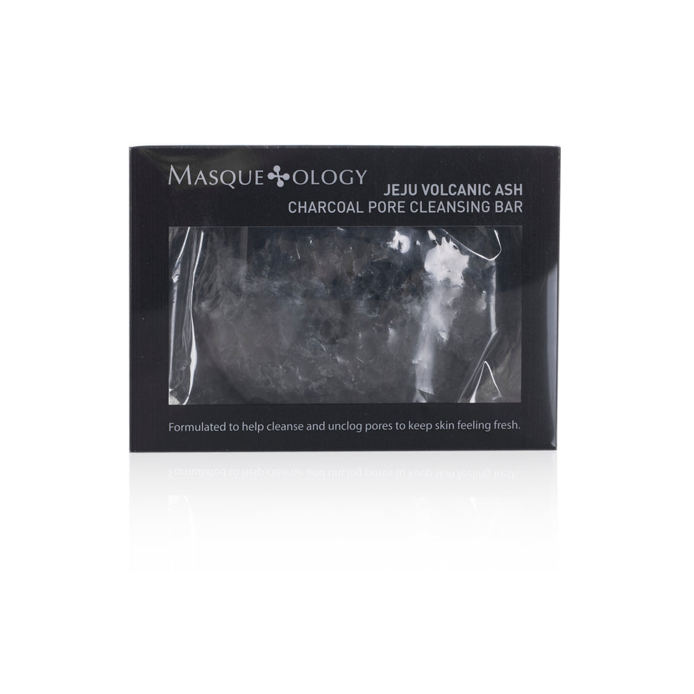 Jeju Volcanic Ash Charcoal Pore Cleansing Bar