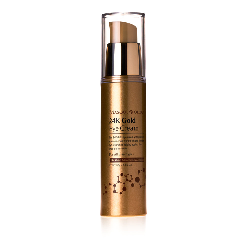 24k Gold Eye Cream by Masqueology