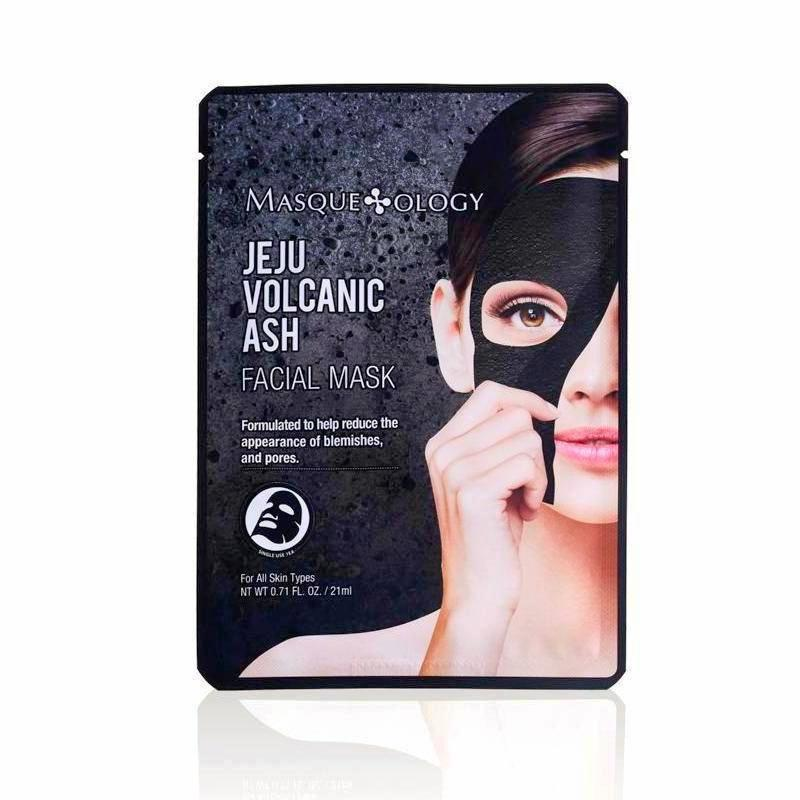 Jeju Volcanic Ash Facial Sheet Mask by Masqueology