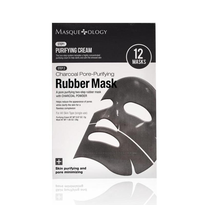Charcoal Pore Purifying Rubber Mask by Masqueology
