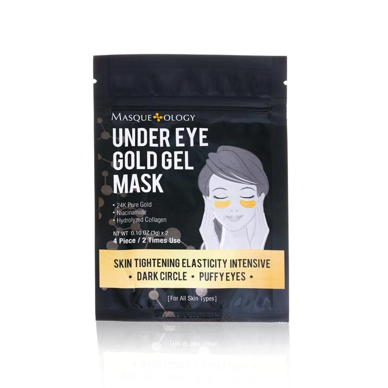 Under Eye Gold Gel Mask by Masqueology