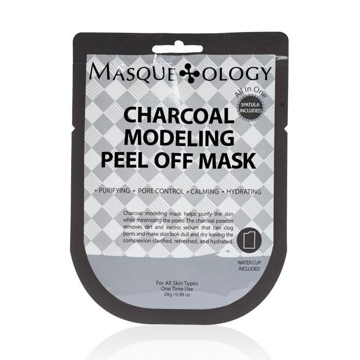 Charcoal Modeling Peel Off Mask by Masqueology