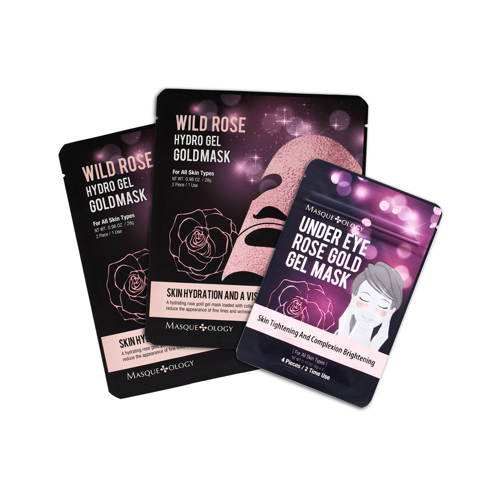 WILD ROSE HYDRO GEL GOLD BUNDLE