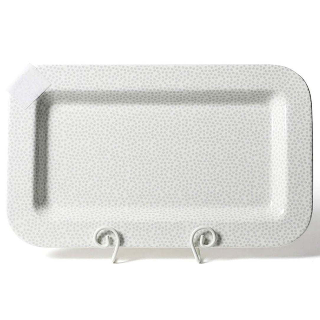 Stone Small Dot Entertaining Mini Platter