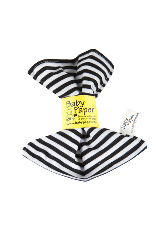 BABY PAPER - Black and White Stripe Baby Paper