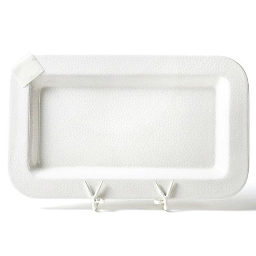 White Small Dot Entertaining Mini Platter