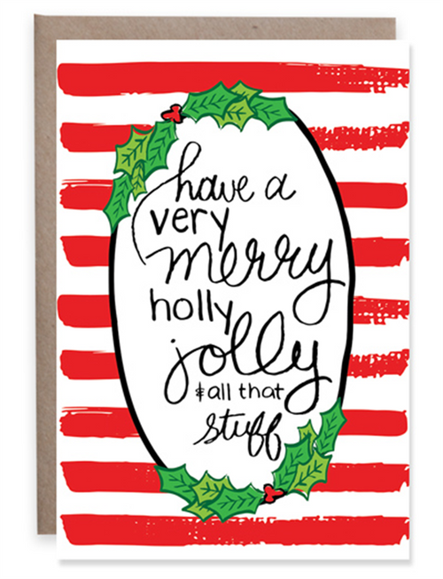 Christmas Cheer Mini Greeting Card