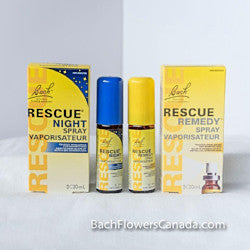 Rescue Spray and Rescue Night Spray Combo