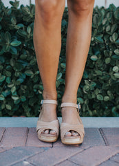 Tom's Sandstorm Leather Beatrix Clog Sandals