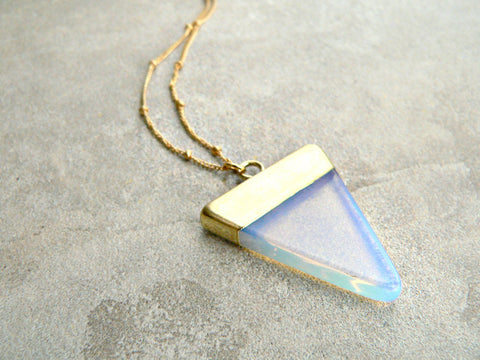 Kattilac Gems Opalite Necklace