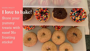 Great way to Store and Carry Your Mini Donuts | Bakers Sto N Go | Bakers Sto N Go