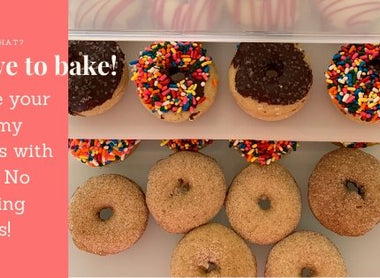 Great way to Store and Carry Your Mini Donuts | Bakers Sto N Go