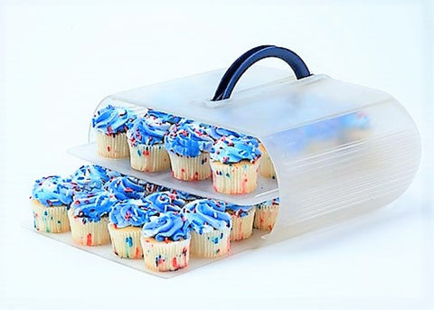 Cupcake carrier - Bakers Sto N Go stackable food storage container