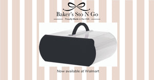 Bakers Sto N Go cookie carrier is the best cupcake carrier, bundt cake carrier, cookie carrier, deviled egg carrier.  Made in USA.