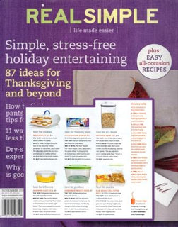 Real Simple Magazine features Bakers Sto N Go