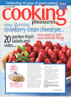 Cooking Pleasure Magazine loves the Bakers Sto N Go food storage container cookie carrier