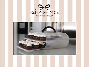 Best mini cupcake carrier in the Bakers Sto N Go.