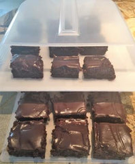 Ghirardelli brownies for the Bakers Sto N Go