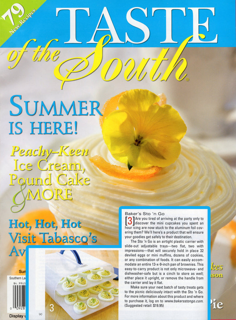 Taste of the South Magazine featuring Bakers Sto N Go