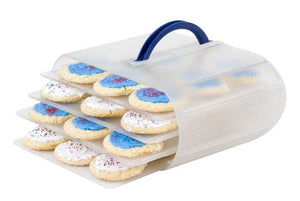 Bakers Sto N Go Cookie Containers - Best for cookie storage, layer frosted brownies
