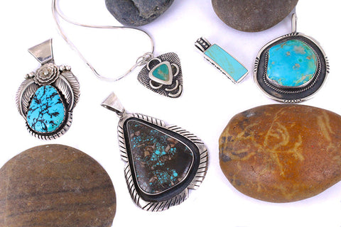 Turquoise Silver Necklaces Silver Pendants Summer Jewelry Olympic Gold and Jewelry Beverly Hills