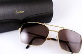 The Cartier Santos Horizon Sunglasses