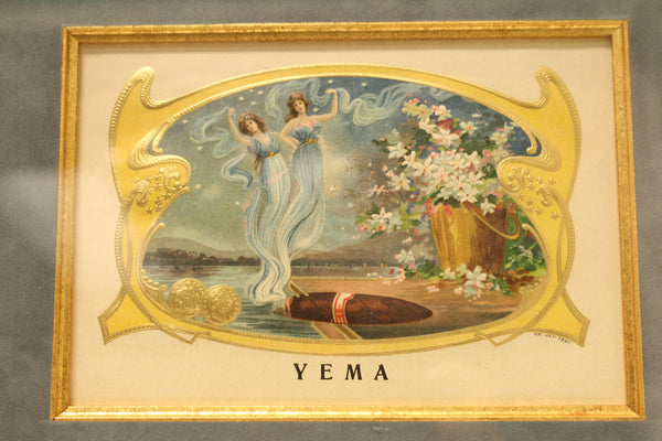 "Original ""Yema"" Cigar Label"