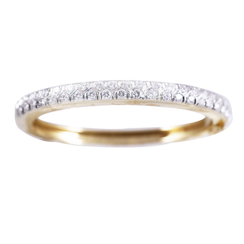 Brilliant Diamond Bangle Bracelet
