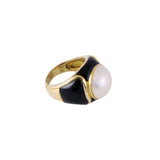 The Black Sea Ring & Earrings