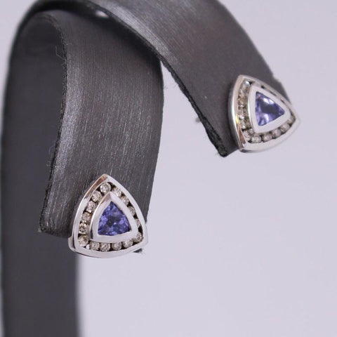 The Tanzanite Earrings