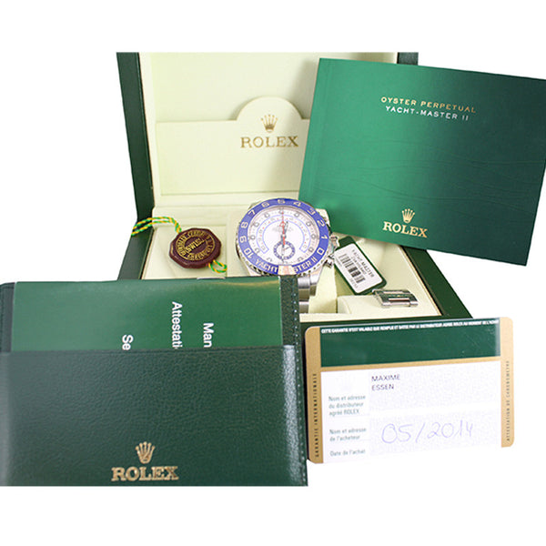 Rolex Yacht Master II Oyster Perpetual Watch 116680